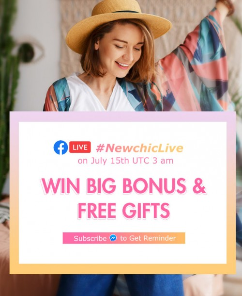 Newchic Live Stream –Tips to Summer Look 2020