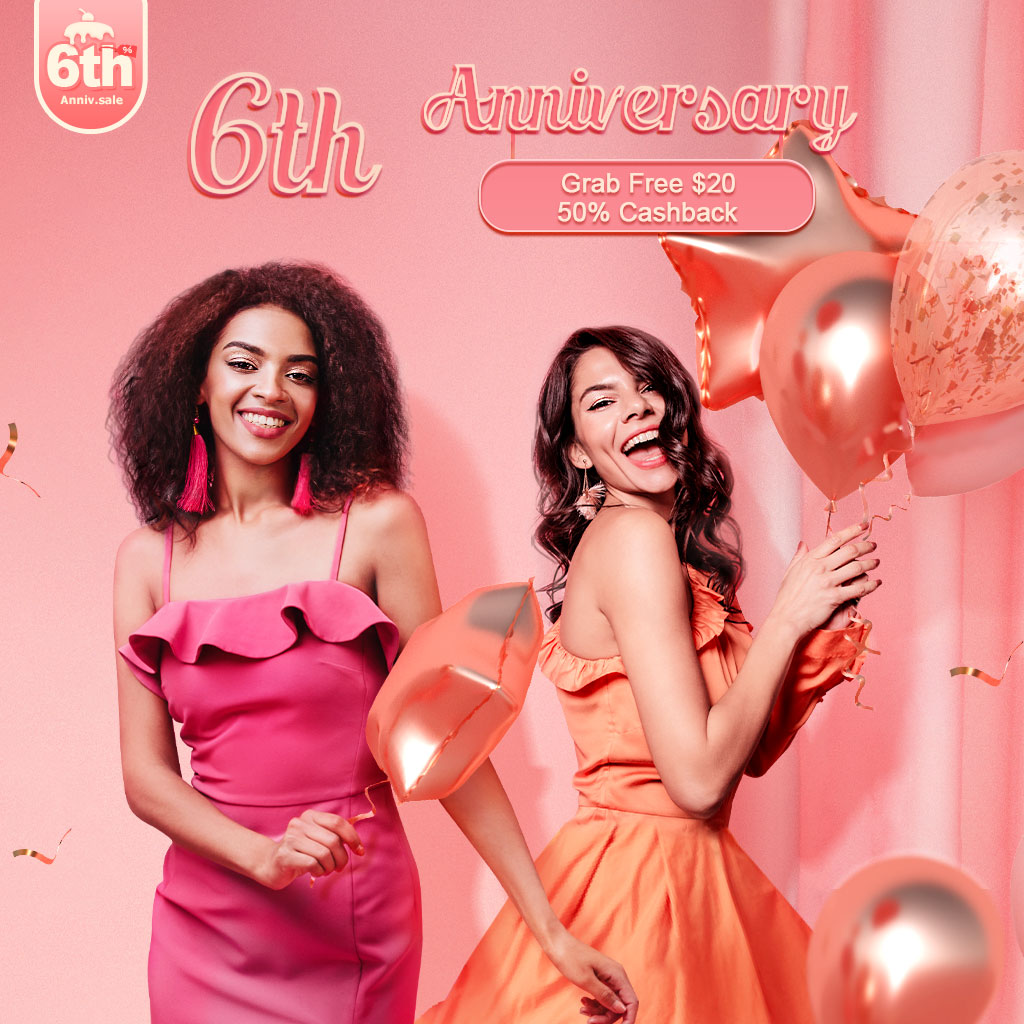 Newchic 6th Anniversary Sale 2020 – Up To 80% OFF
