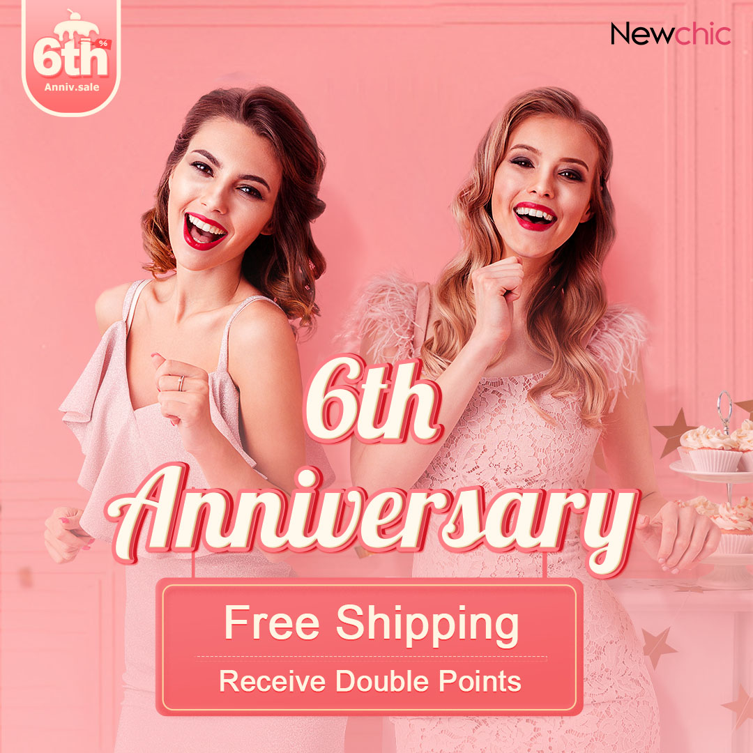 Newchic 6th anniversary sale 2020