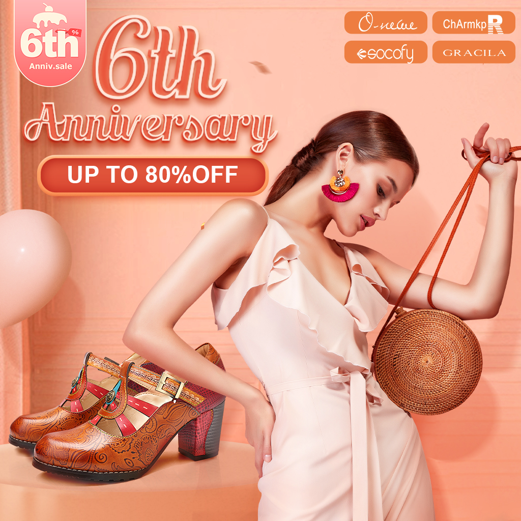 Newchic 6th anniversary sale 2020 -Do you know the best 4 SOCOFY shoes?