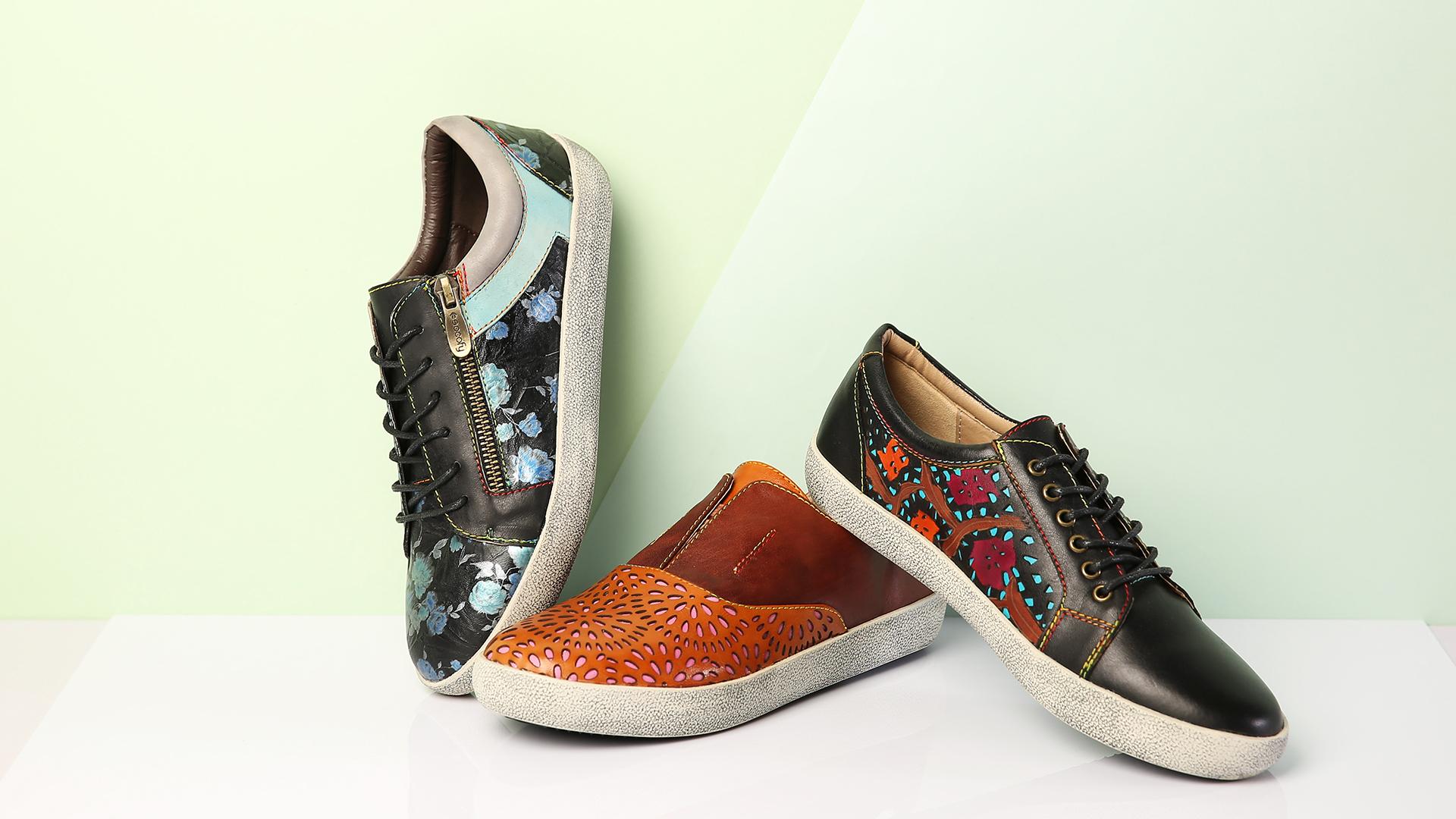 SOCOFY Vintage Sneakers
