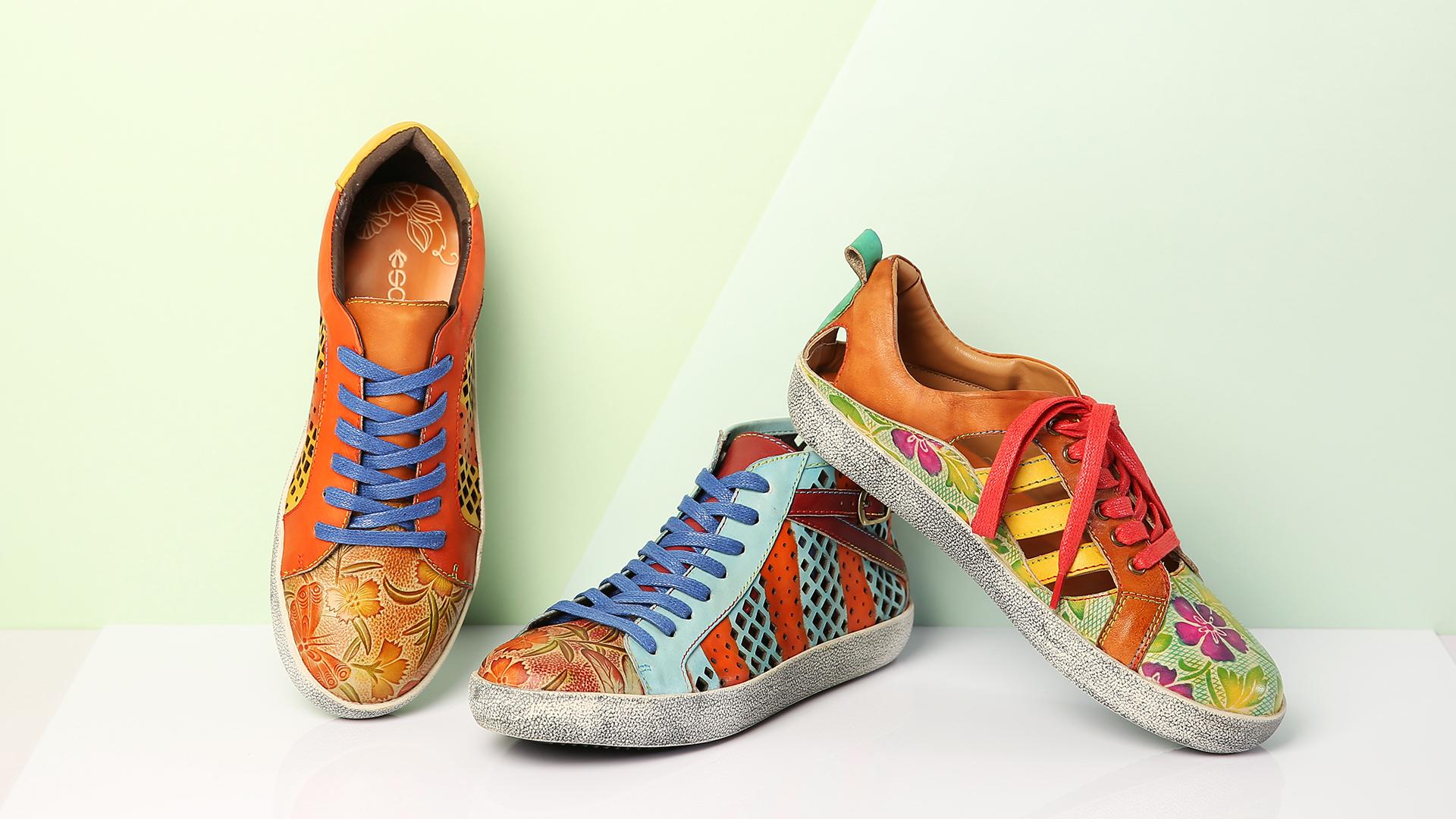 SOCOFY Retro Sneakers