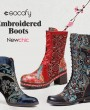 FIVE TYPES OF SOCOFY EMBROIDERED BOOTS YOU CAN'T-MISS