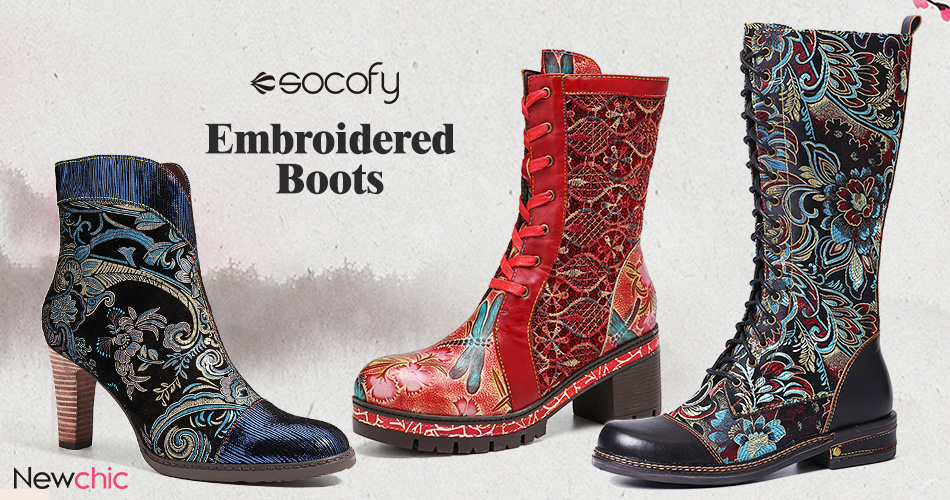 SSOCOFY Brand - Comfort Boots
