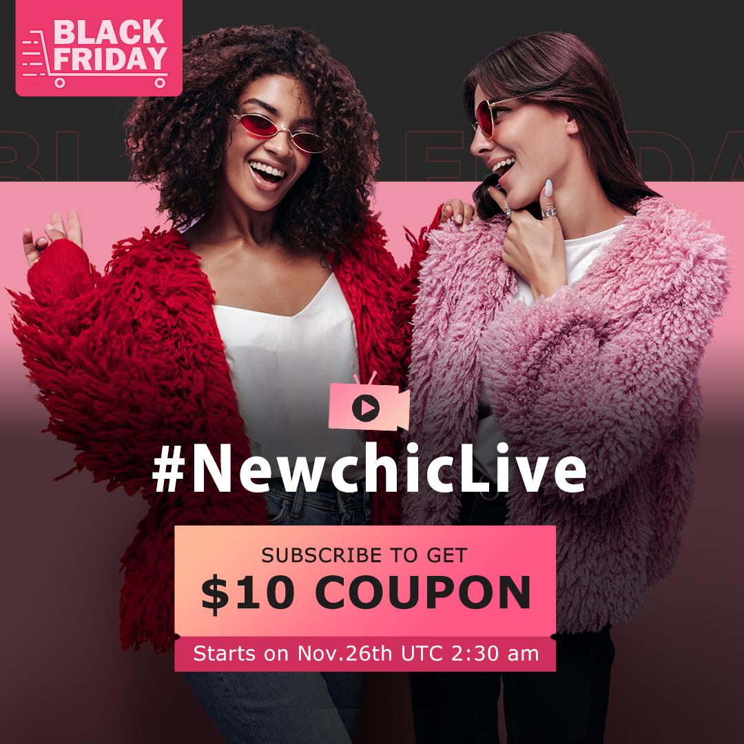 Newchic Live Stream 2020 Black Friday Deals