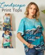 Newchic Landscape Print Outfits, Trendy Clothing To Try 2021
