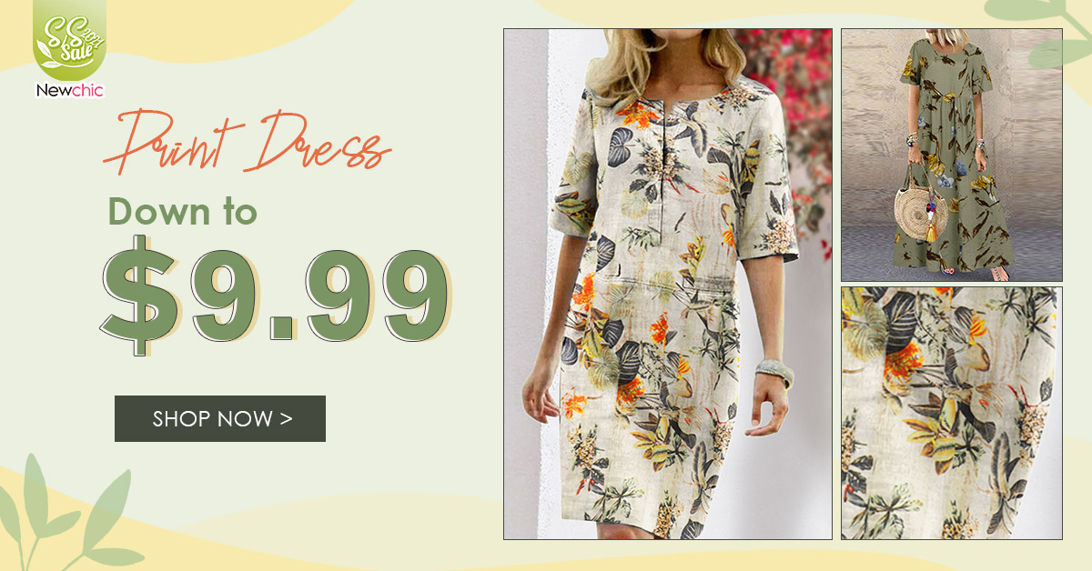 Newchic Spring Summer Dresses On Sale
