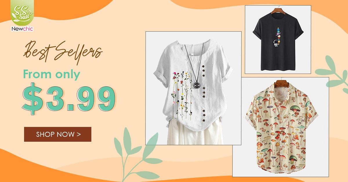 Newchic Spring Summer Sale 2021