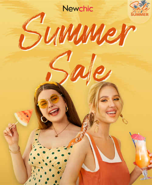 Newchic Summer Sale 2021 to Get You Psyched