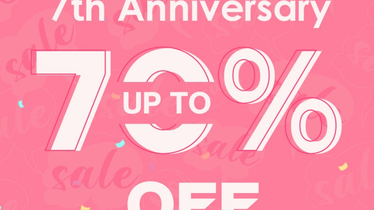 NEWCHIC 7TH ANNIVERSARY SALE 2021 TO GET YOUR LOVE ITEMS